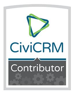 CiviCRM Contributor badge