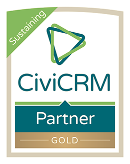 CiviCRM GOLD level Sustaining Partner